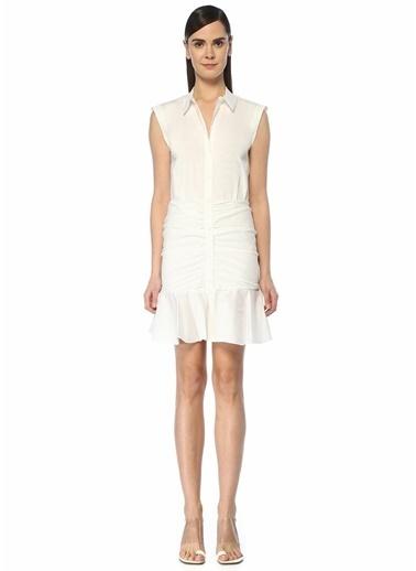 Veronica Beard Elbise Beyaz